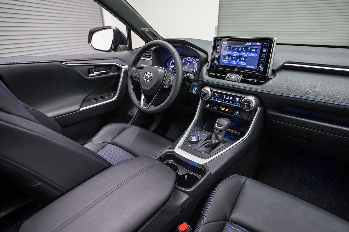 Toyota RAV4 2019: технологичность