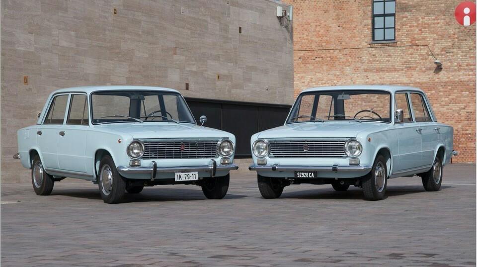 Советские автомобили - Жигули ВАЗ-2101