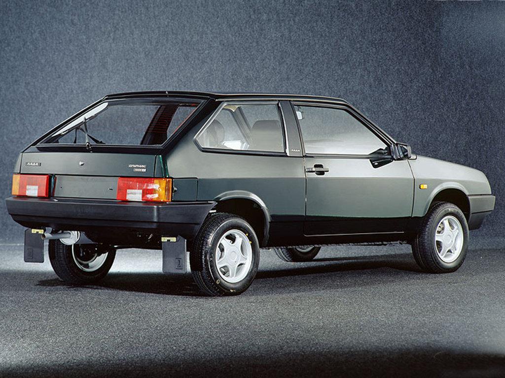 Советские автомобили - «Восьмерка» ВАЗ-2108