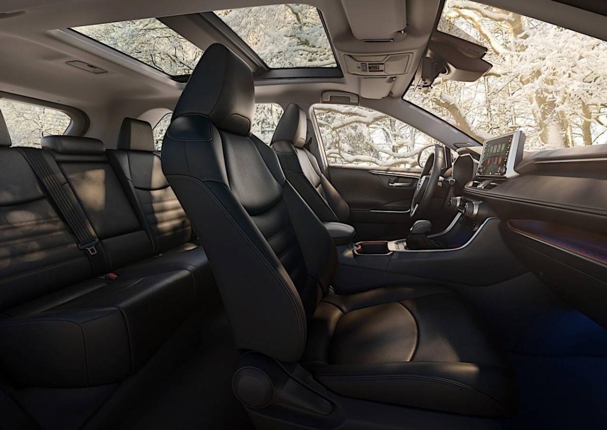 Toyota RAV4 2019: вместительность