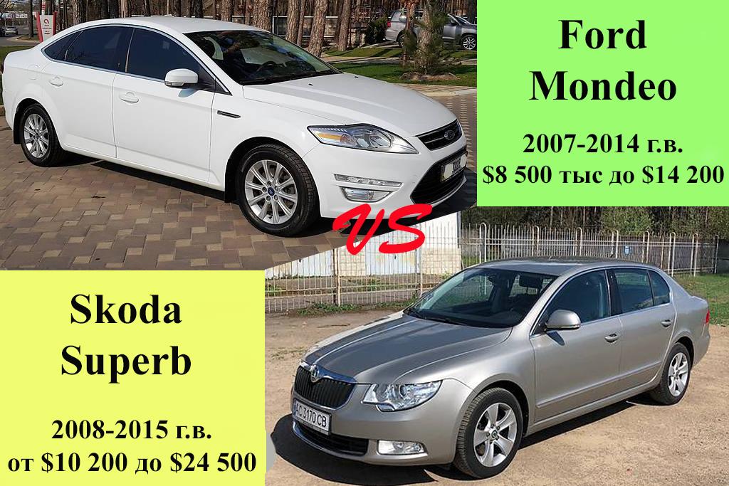 Ford Mondeo и Skoda Superb
