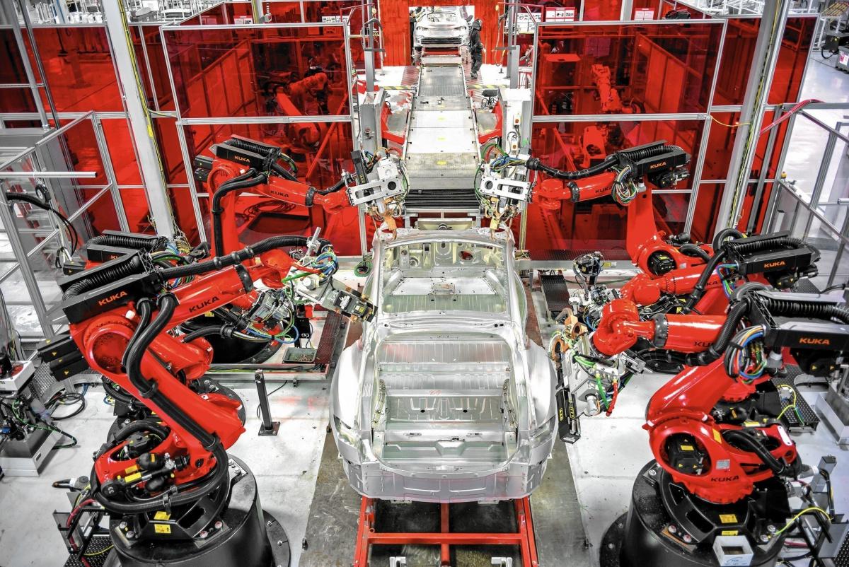 Производство Tesla Model 3