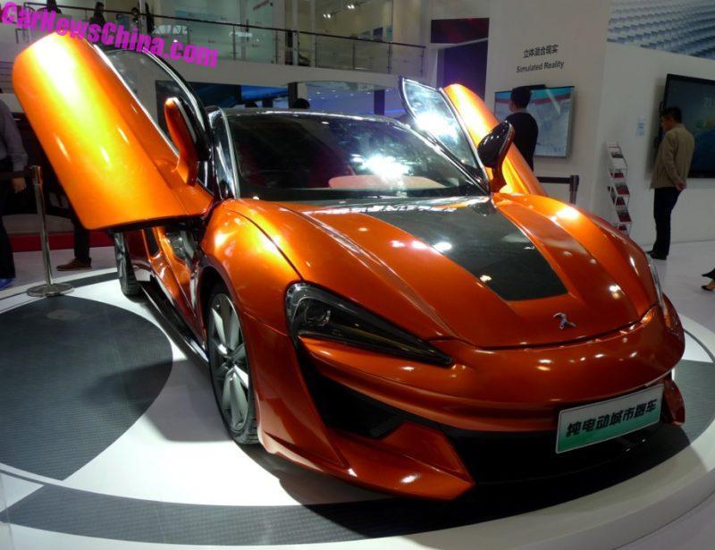 Самые лучшие китайские авто с Пекинского автосалона