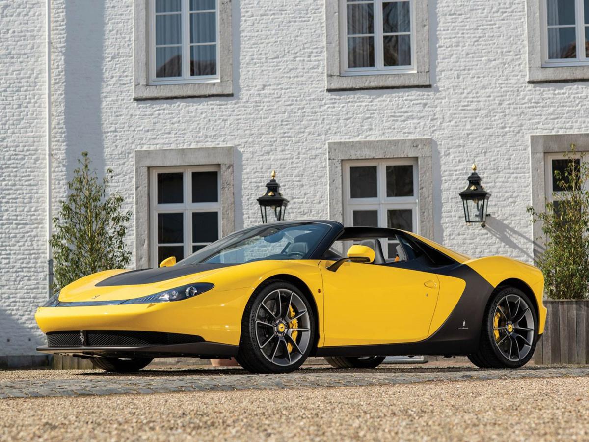 Самая редкая Ferrari современности уйдет с молотка