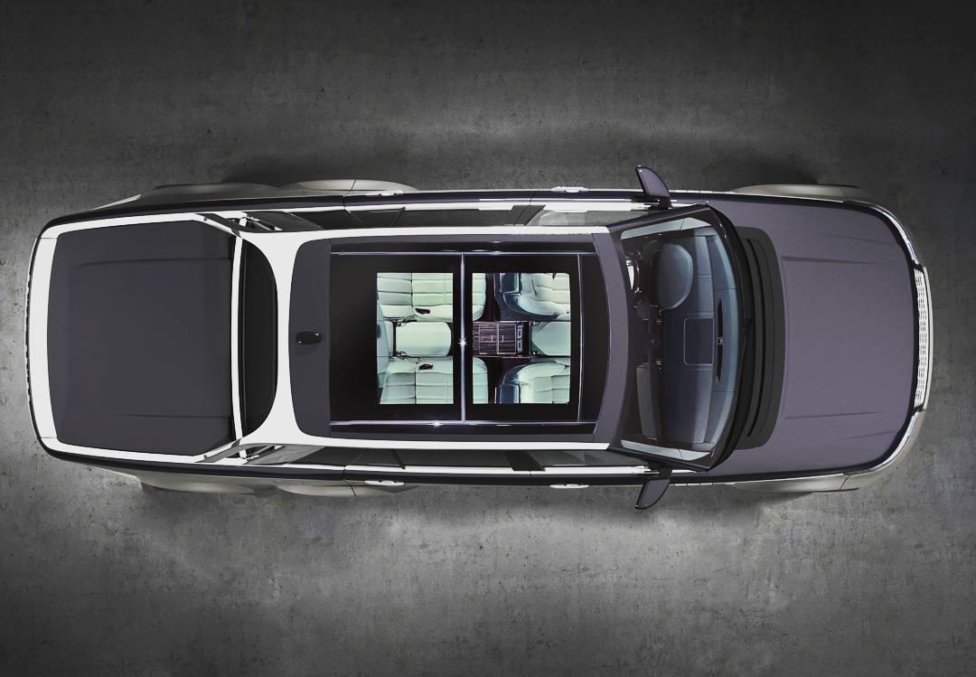 Первые изображения роскошного шестиколесного Range Rover