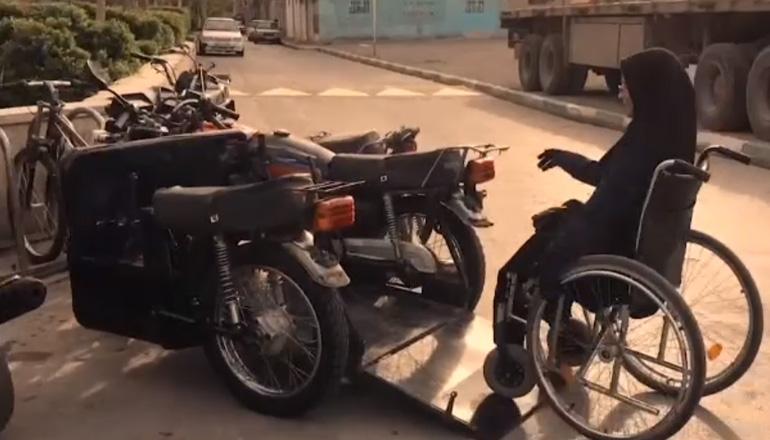 Представлен первый в мире мотоцикл для инвалидов