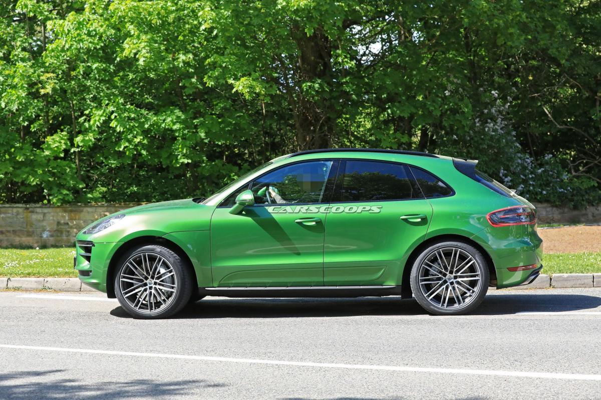 2018 Porsche Macan Facelift >> Первые фото Porsche Macan 2019 - Автоцентр.ua