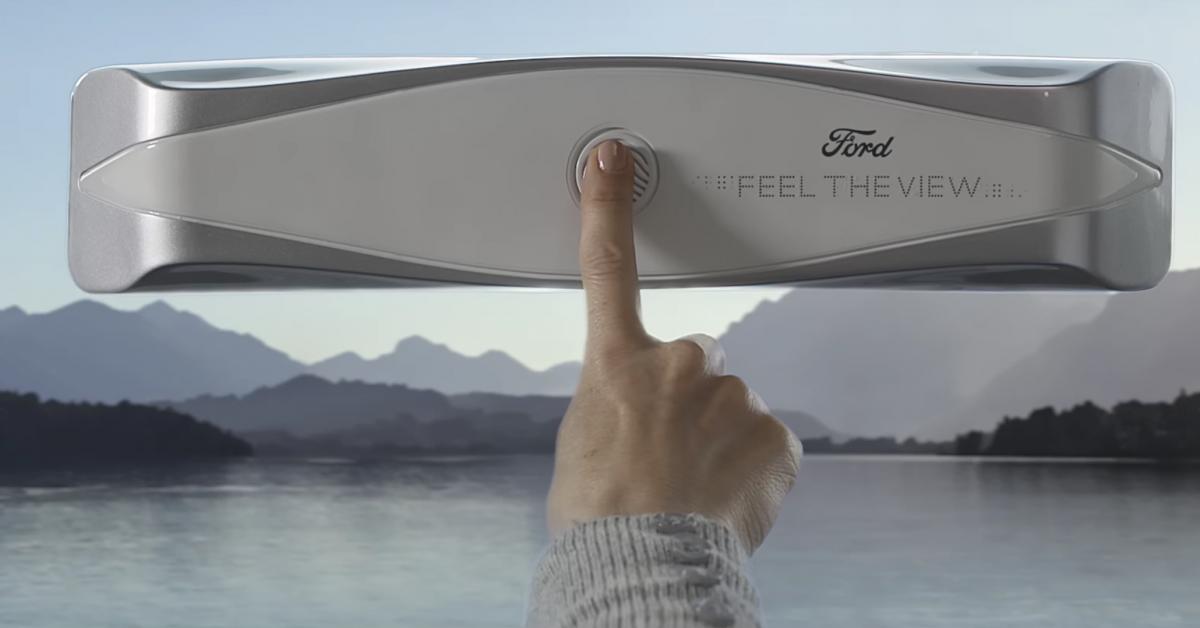 Feel The View - автомобильные стекла для незрячих людей