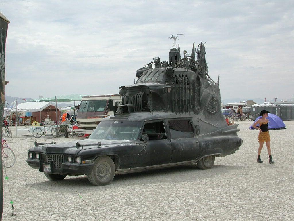 Арт-автомобиль Carthedral