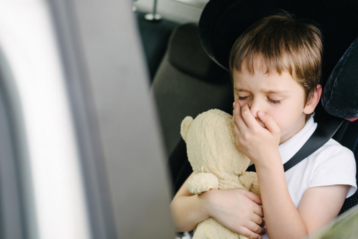 Детское укачивание - симптомы