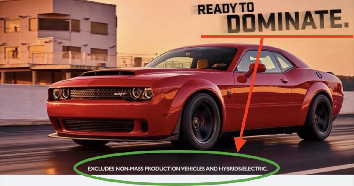 Dodge Challenger Demon 2018