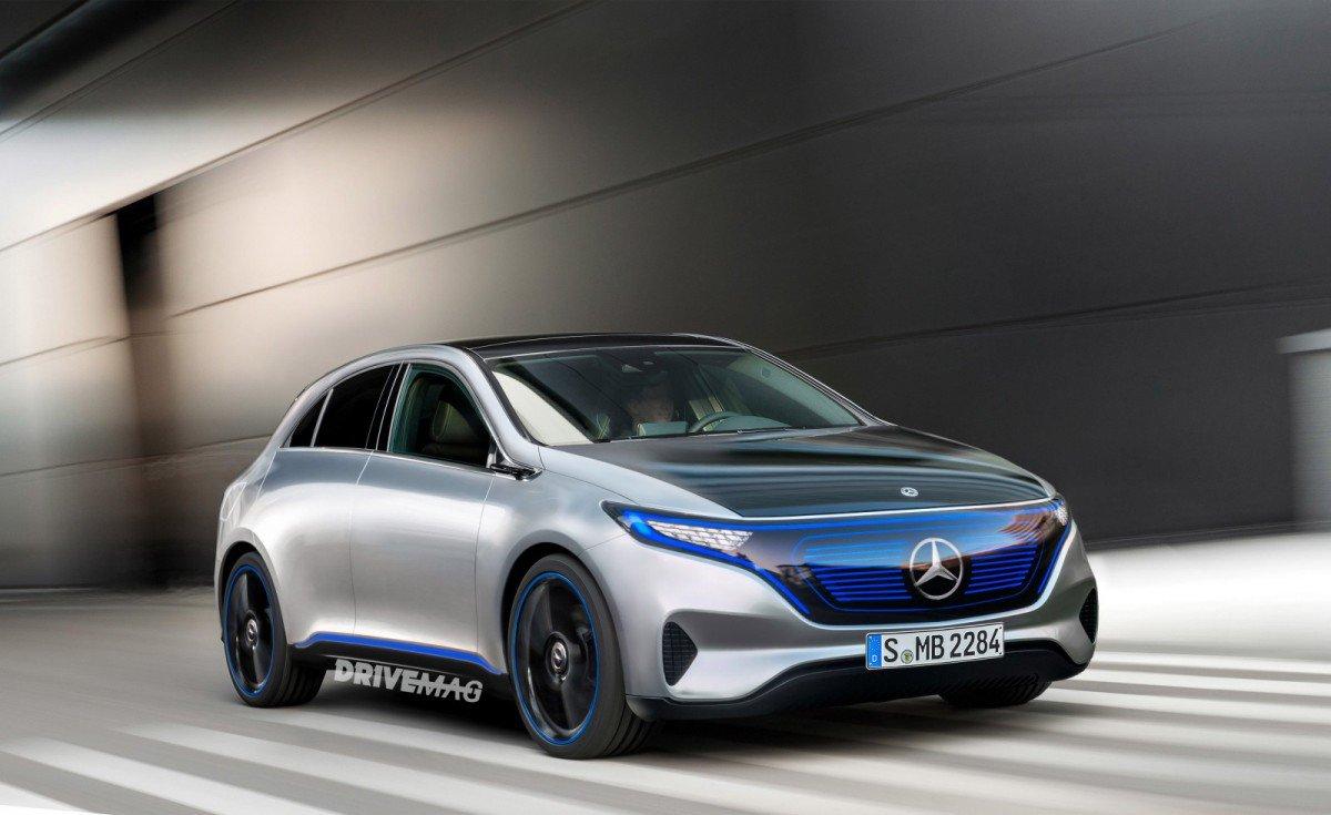 электромобиль Mercedes-Benz EQ А