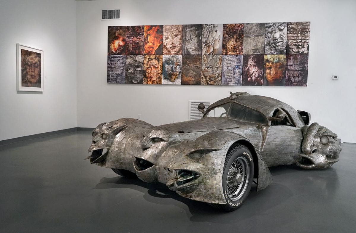 автомобили, превращенные любителями-механиками в произведения искусства - Фантом