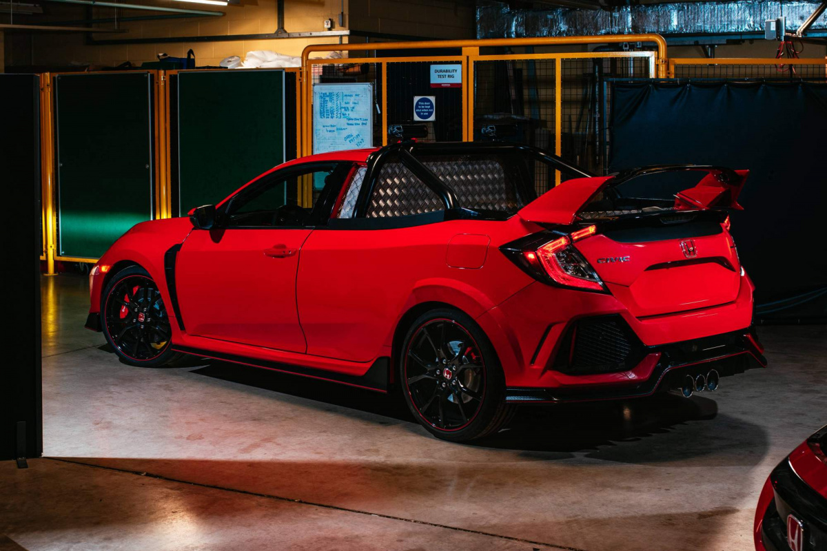 Хот-хэтч Honda Civic Type R стал пикапом