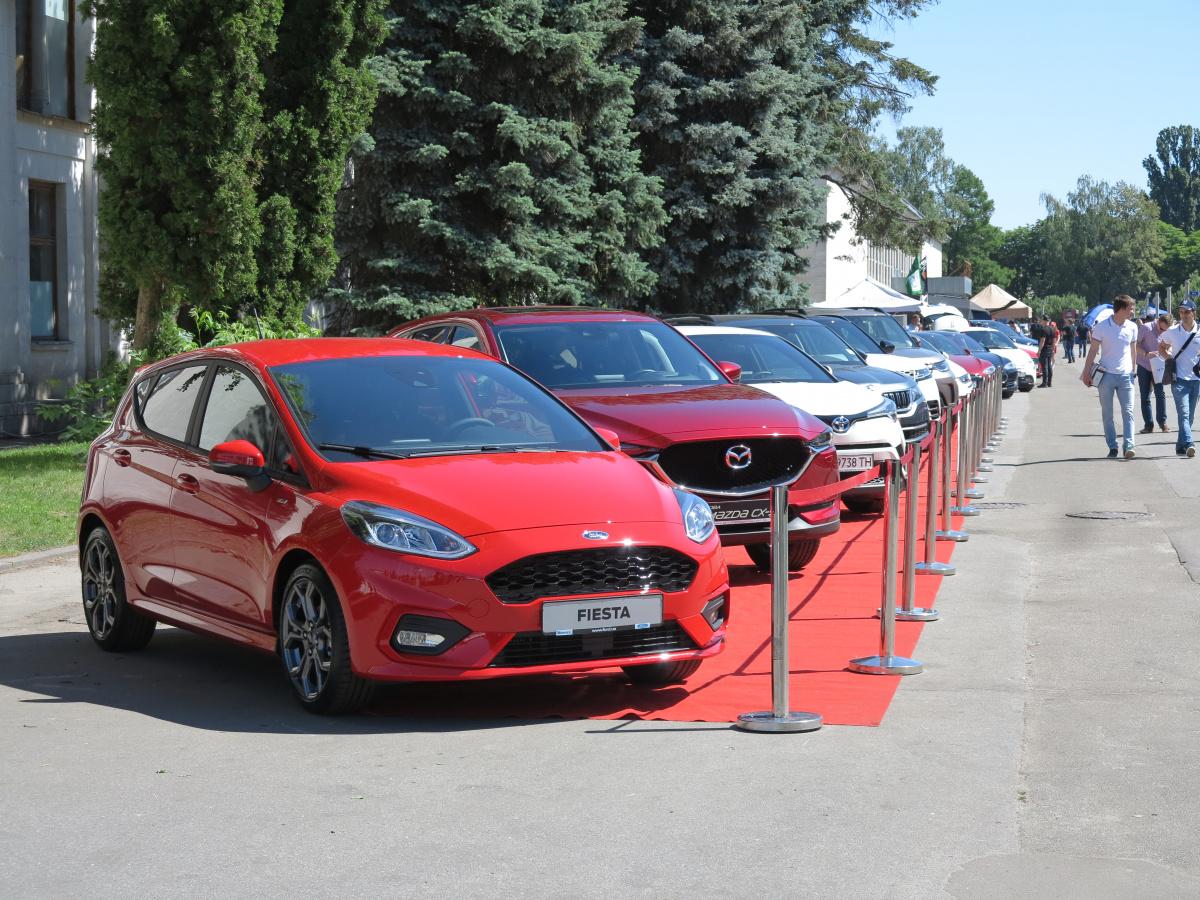 Экспозиция Ford на фестивале New Cars Fest 2018