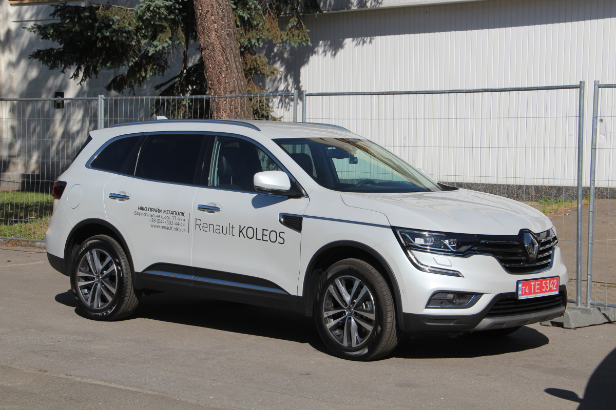 Renault Koleos на New Cars Fest 2018