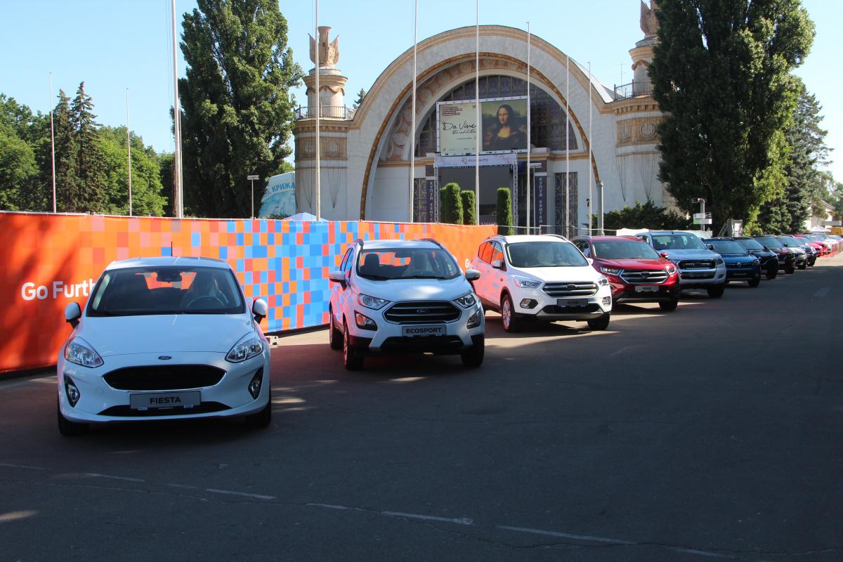 Ford на фестивале New Cars Fest 2018