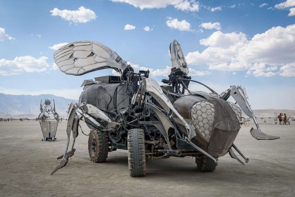 произведения искусства - UKI(Utility Kinetic Insect)