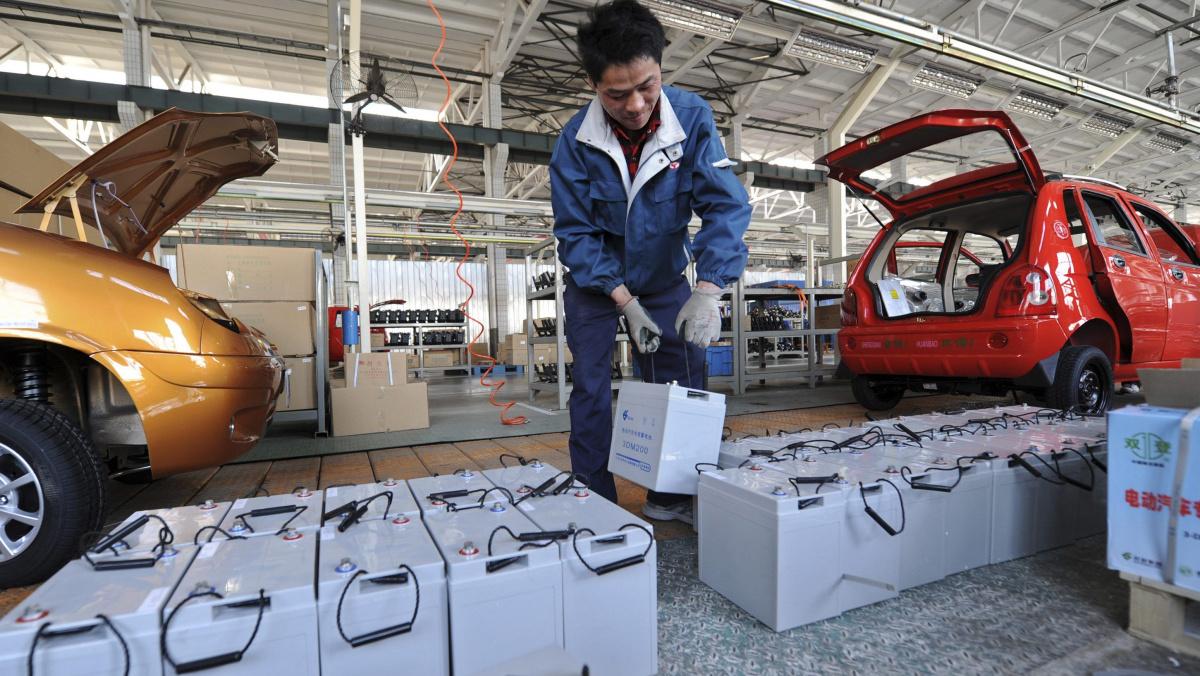 7 модных трендов автомобильной промышленности сегодня - Китай самый крупный рынок электромобилей