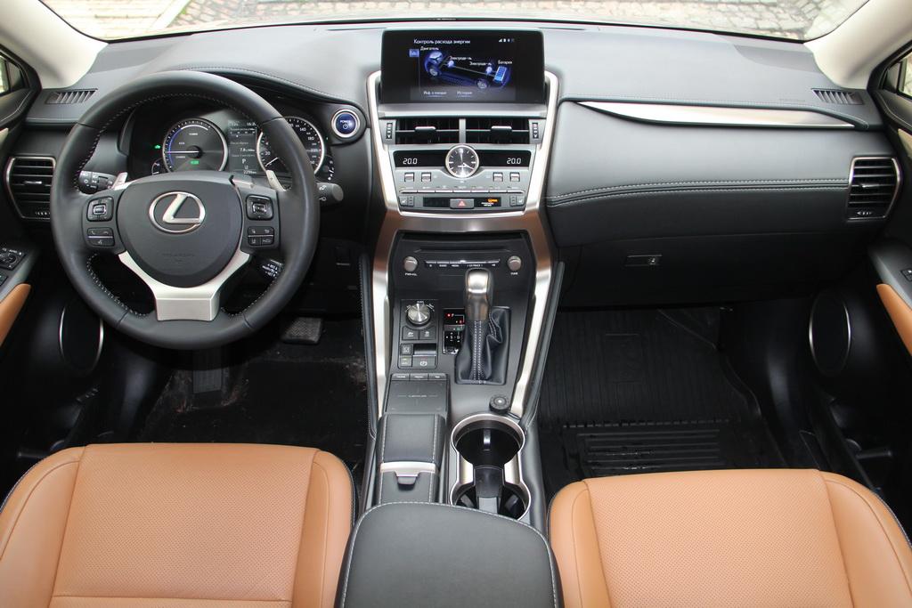 Интерьер Lexus NX 2018