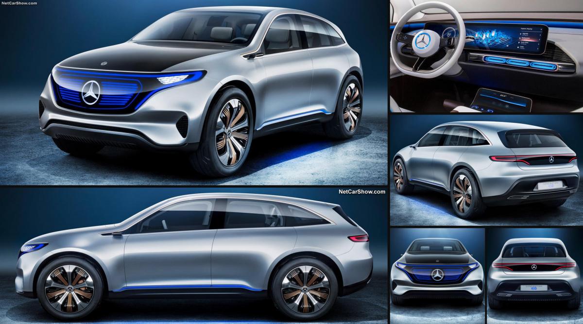 Электромобиль Mercedes-Benz EQ С