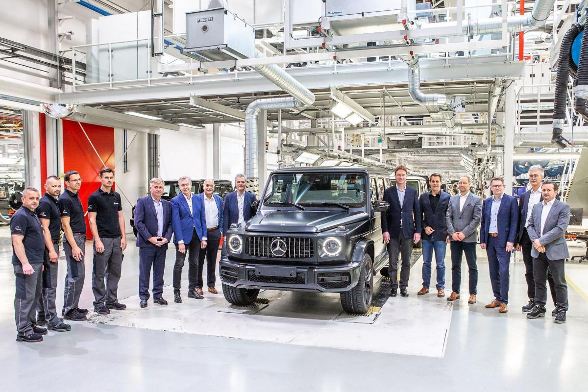Новый Mercedes G-Class 2019 поступил в производство