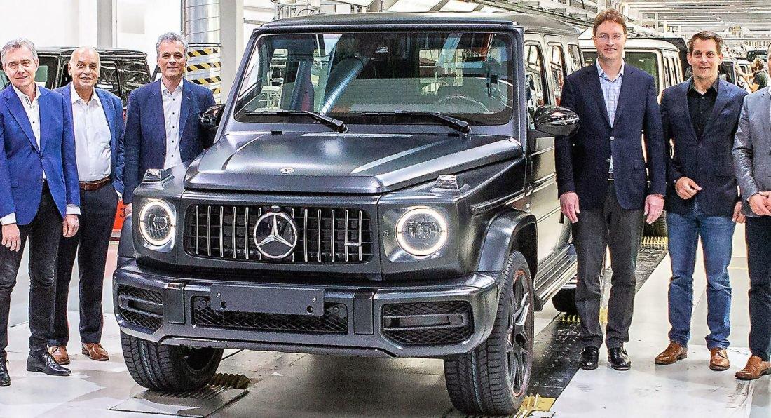 АвтобизнесНовый Mercedes G Class 2019 поступил в производство Тарас Андриевский