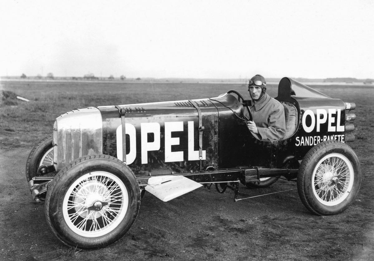 Уникальные реактивные Opel, опередившие свое время
