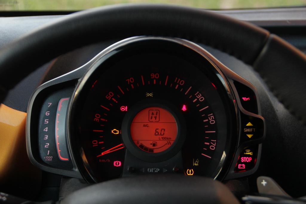 Приборы Peugeot 108