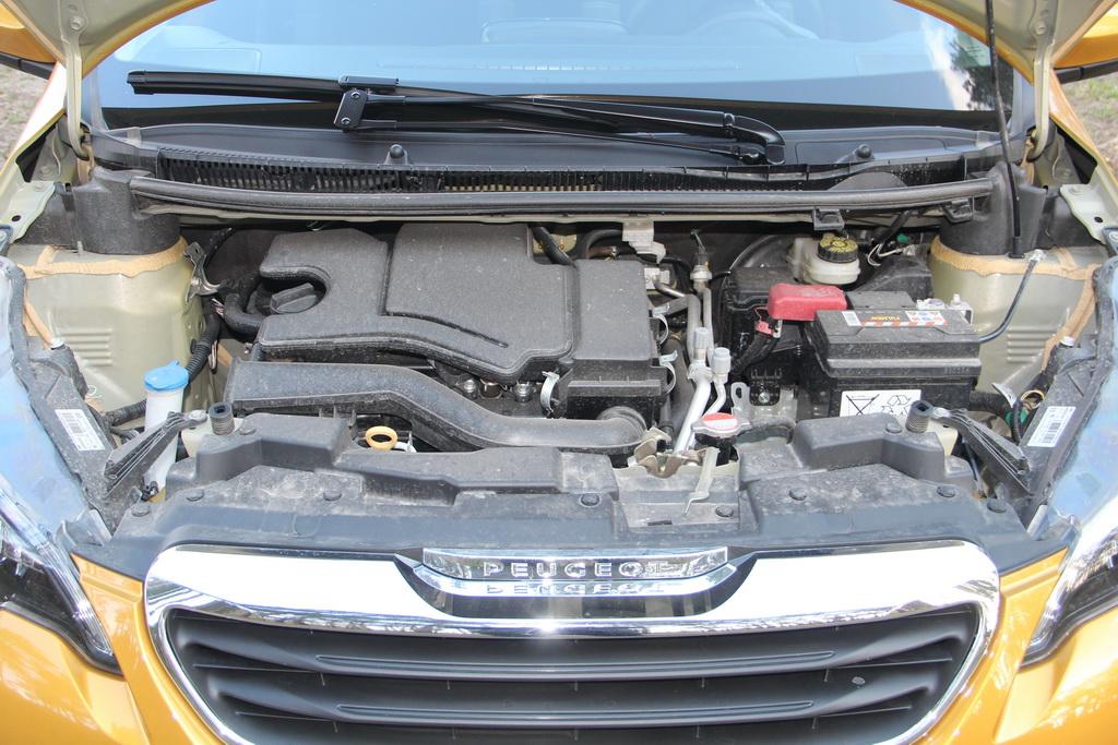 1-литровый мотор Peugeot 108