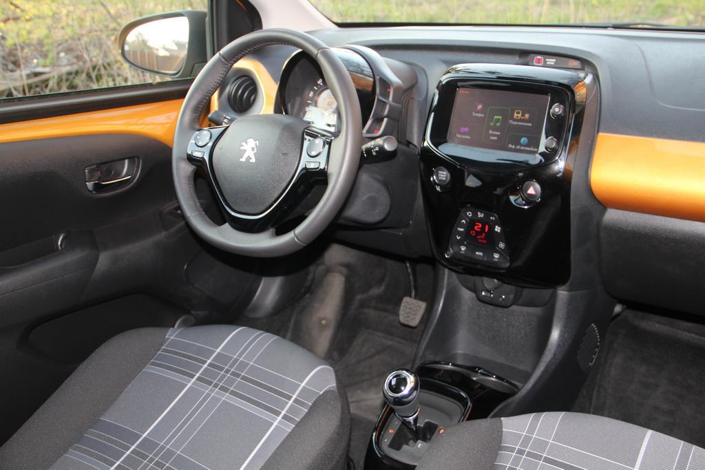 Салон Peugeot 108