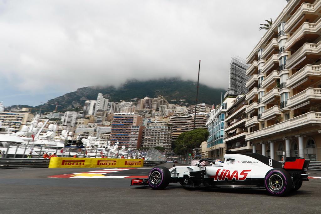 RG at speed at Monaco