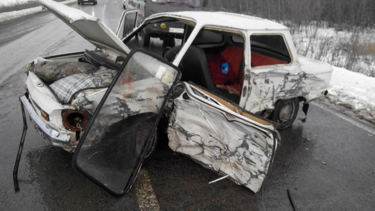 уровень безопасности автомобиля - старый против нового