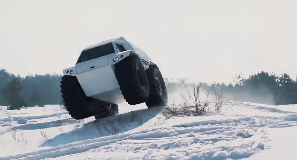 Снегоболотоход ТОР 2.0 вездеход THOR