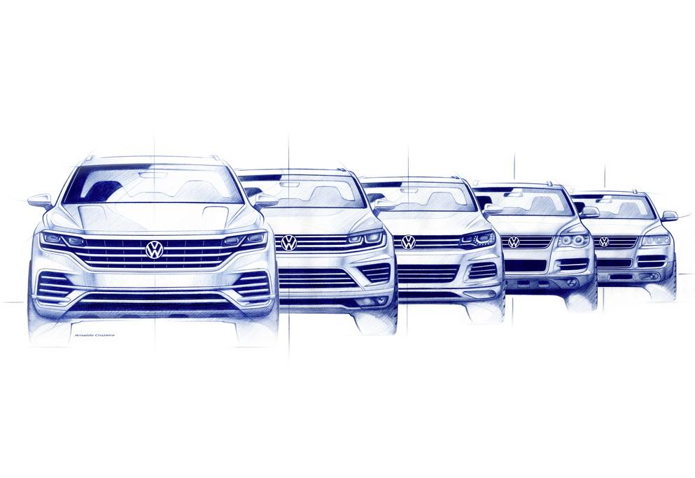 Эволюция Volkswagen Touareg