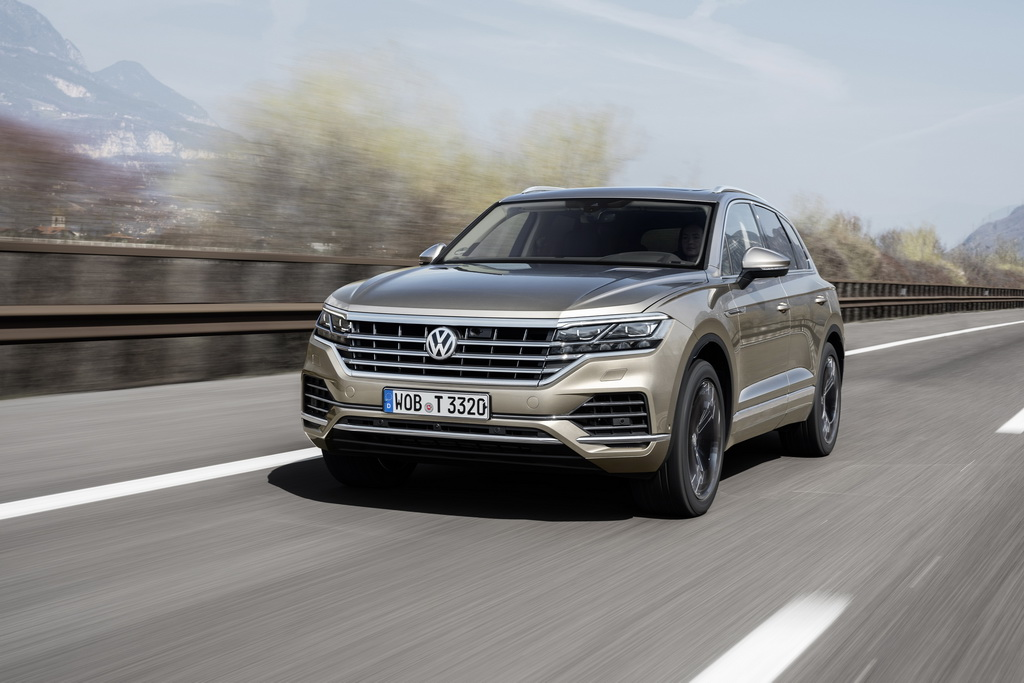 Внешность Volkswagen Touareg 2018