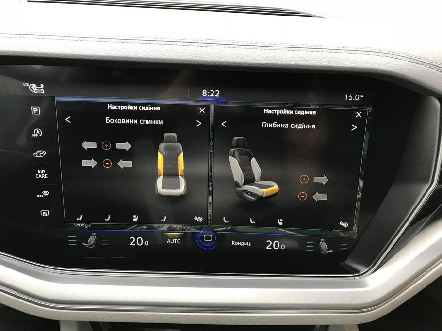 Оснащение Volkswagen Touareg 2018
