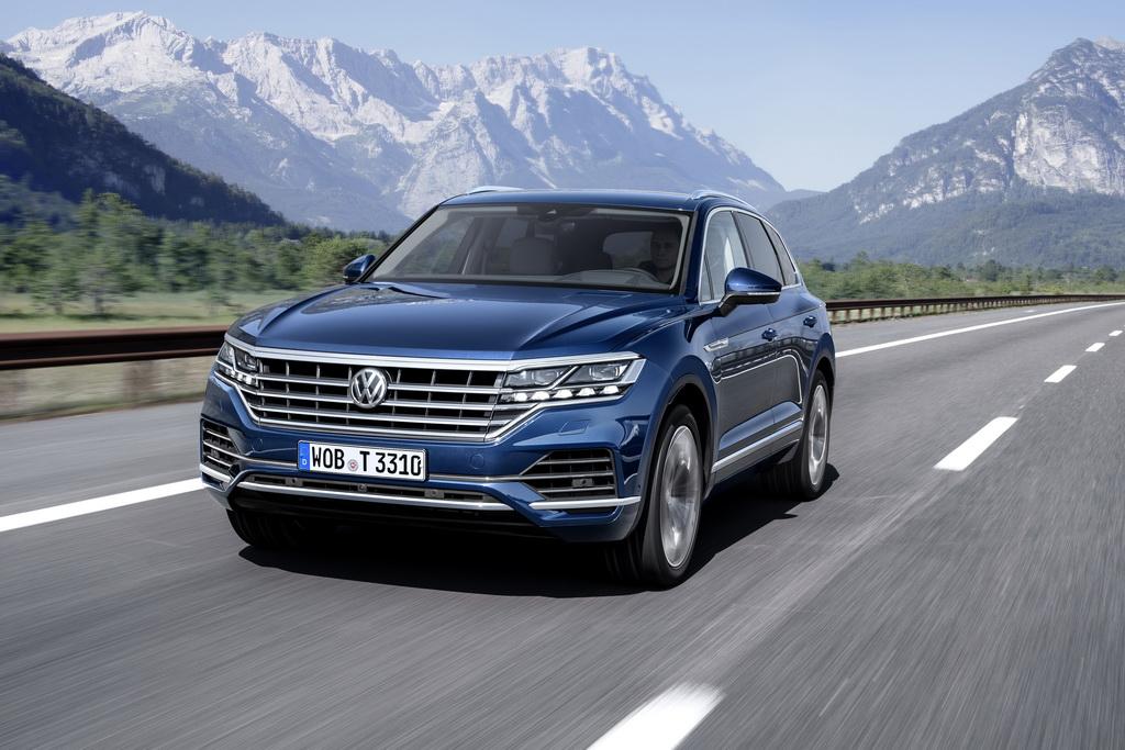 Как выглядит Volkswagen Touareg 2018