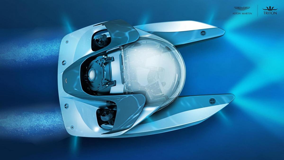 Первый электрический Aston Martin оказался роскошной субмариной