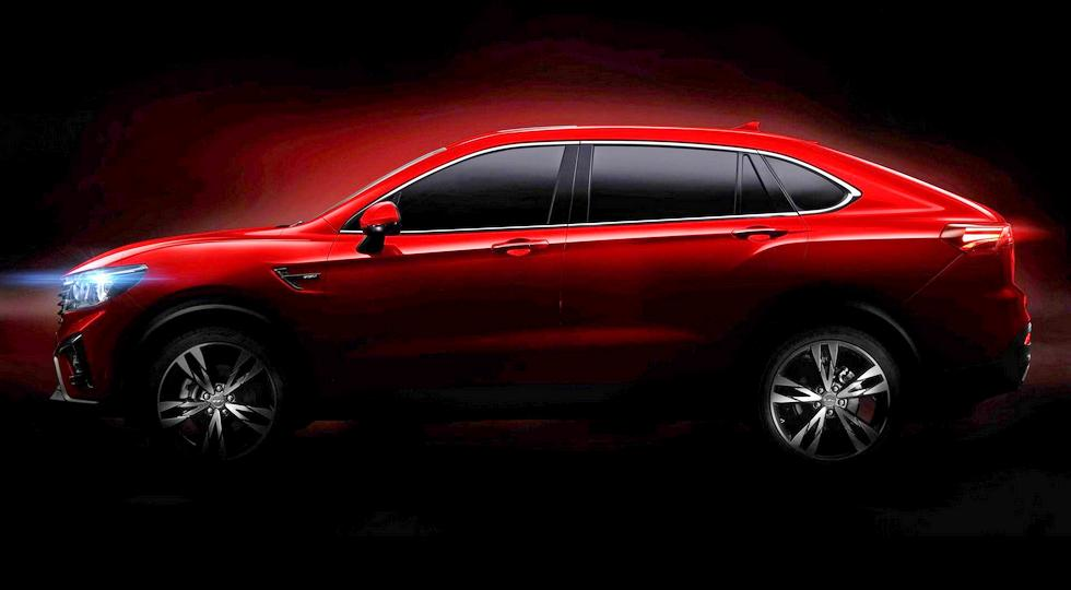 В Китае представили купе-кроссовер в стиле BMW X4 по цене VW Golf