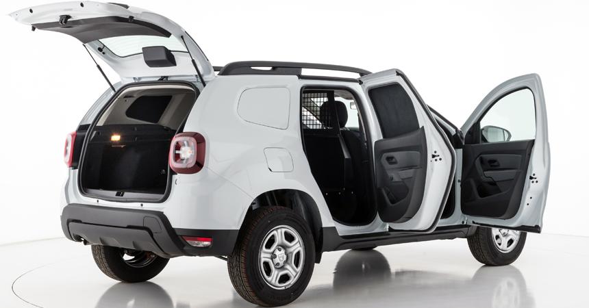 Новый кроссовер Рэно Duster превратили вгрузовой фургон