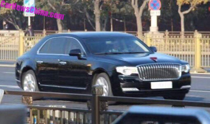 Hongqi готовит кдебюту конкурента Ауди A6 и БМВ 5