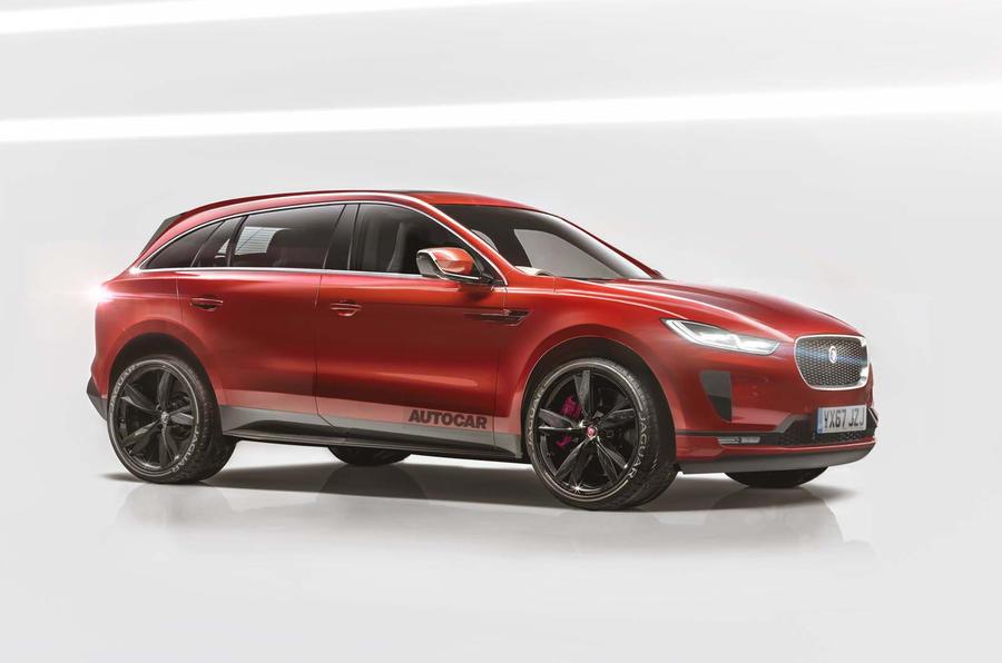 Большой кроссовер Jaguar бросит вызов BMW X5 и Porsche Cayenne