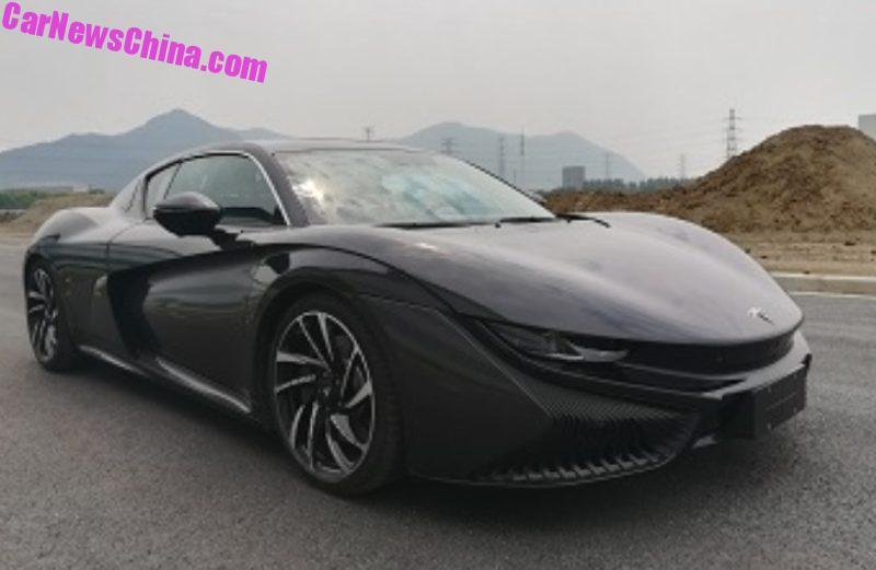 В Китае презентовали электроспорткар по цене Porsche 911