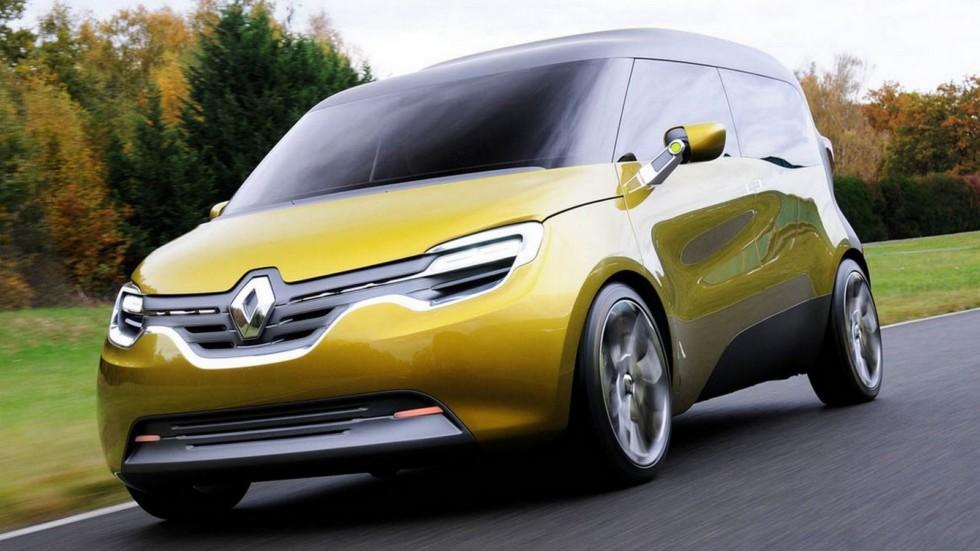 Новинка Renault Kangoo 2019 квадратные формы гибридная установка и множество версий