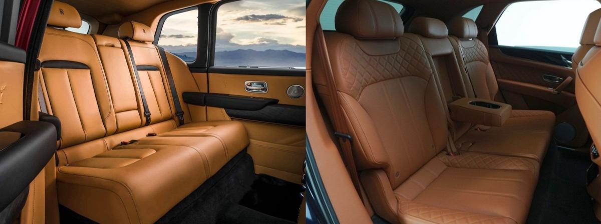 Цифры и факты: Rolls-Royce Cullinan против Bentley Bentayga