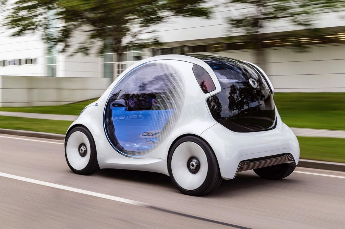 Смарт войдет в линейку Mercedes-Benz EQ и станет полностью электрическим