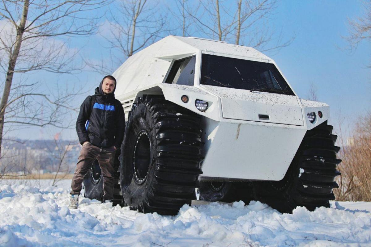 Снегоболотоход ТОР 2.0 THOR