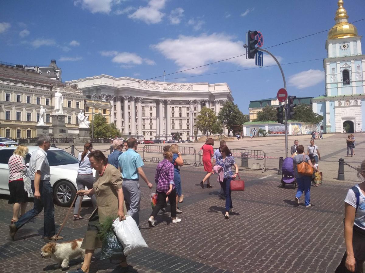 Светофоры в Киеве