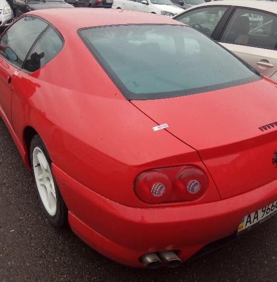 В Украине продадут с молотка за долги раритетное купе Ferrari